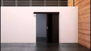 Система открывания Купе - межкомнатные двери Профил Доорс Алматы Казахстан(Скользящая вдоль стены дверь – принцип открывания двери, который известен каждому. Конструктив системы..., 2015-09-28T05:56:02.000Z)