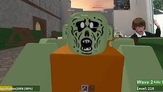 ZOMBIE RUSH IS BACK!!!!!!!!!!! (ROBLOX adventures)