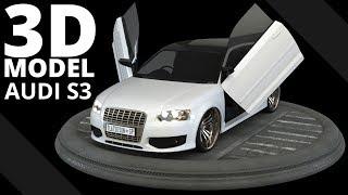 Audi S3 3D Model | Tlatso-Son