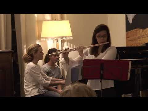 Sonate de Claude Debussy pour flûte et piano (Allegro Vivo)