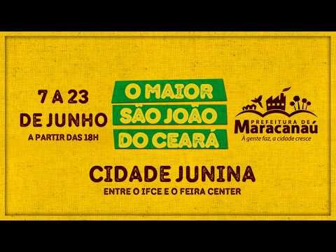 São João de Maracanaú - 7 a 23 de junho de 2018