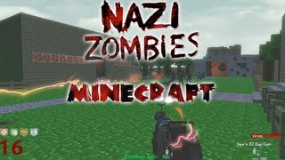 Cod Waw: PC Custom Zombies on Minecraft Solo Live Commentary/Gameplay
