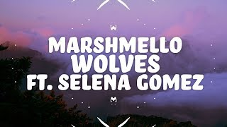 Marshmello, Selena Gomez - Wolves (Lyrics) 🎵