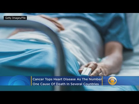 Cancer Now Tops Heart Disease As No. 1 Cause Of Death In These Countries