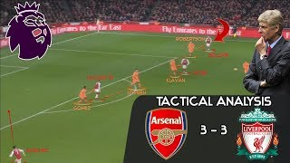 Why Arsenal 3-3 Liverpool is a serious contender for match of the season: Tactical Analysis