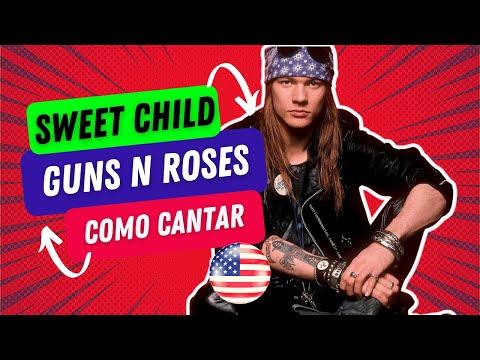 Aula de Inglês com Guns N Roses - Sweet Child O' Mine