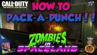 HOW TO OPEN PACK-A-PUNCH! - Space-land Zombies (Infinite Warfare)