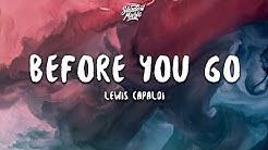 Lewis Capaldi - Before You Go (Lyrics)