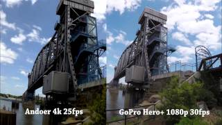 Gopro Hero vs Andoer 4k Action Cam