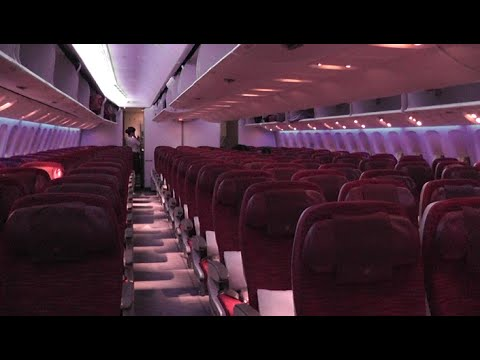Qatar Airways inflight experience on board 777-200LR