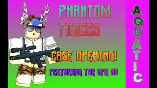 Roblox Phantom Forces Unlocking Cases And Playing w/ SFG 50!