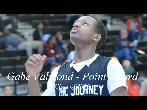 Gabe Valmond 2022 PG grabs a DOUBLE-DOUBLE & wins MVP in the One Journey Delawar...
