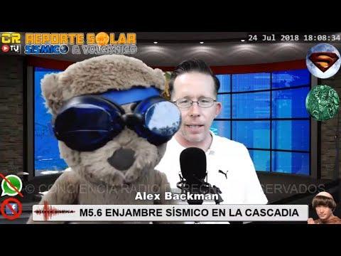 M5.6 LA CASCADIA ((ALERTA POR ENJAMBRE))) ECLIPSE Y ALINEACION EL 27 RIESGO DE TERREMOTOS AUMEN