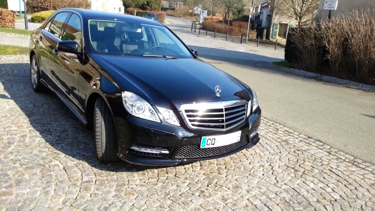mercedes-benz classe e 220 cdi avantgarde executive my 2013 - youtube