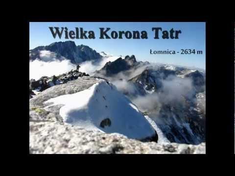 Wielka Korona Tatr - 14 najwyższych szczytów