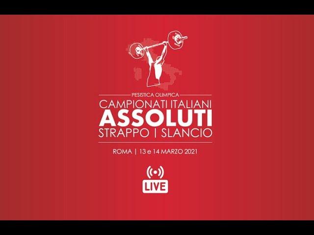Finali Assoluti Specialità 2021: LIVE (domenica 14  marzo)