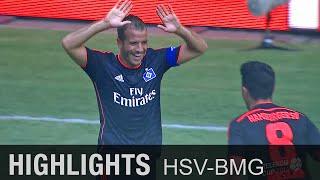 Rafael van der Vaart bringt HSV Platz 3   Hamburger SV - Borussia Mönchengladbach 3:1   Telekom Cup
