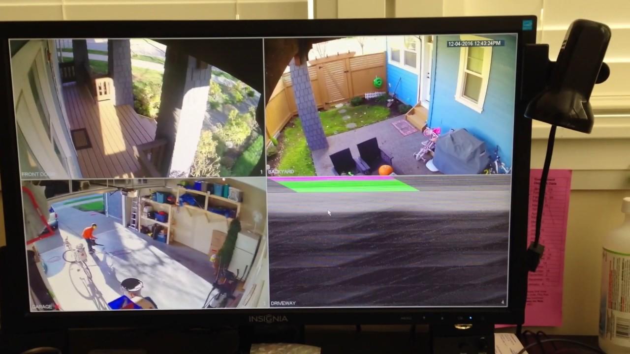 Lorex home security problem