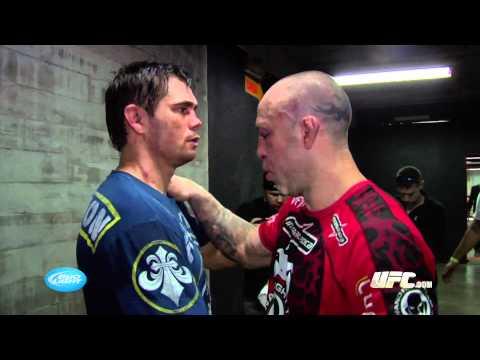 UFC 147: Rich Franklin Backstage Interview