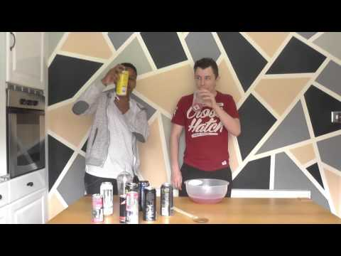 *Heart Attack Warning (Not Really) | MIXING AND DRINKING LOADS OF ENERGY DRINKS CHALLENGE