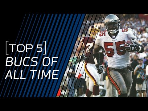 Top 5 Buccaneers of All Time | NFL