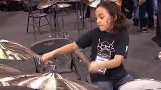 Amazing Kids Playing Drums at NAMM 2013