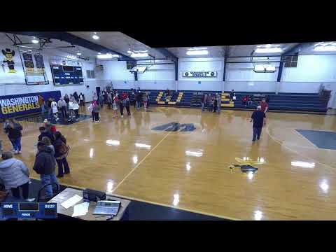 Washington  vs. sharkey issaquena academy Varsity Mens' Basketball