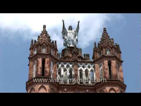 Palayam Church, Kerala - Gothic architecture from 137 years back