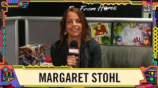 Comic Writer Margaret Stohl talks Captain Marvel at SDCC 2019!