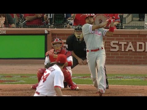2011 NLDS Gm3: Francisco belts three-run jack for lead