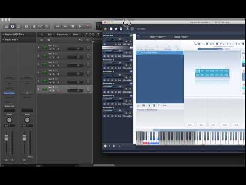 Vienna Ensemble as a Multitimbral Instrument in Logic Pro X