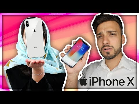 MUSLIM MOM SURPRISED WITH IPHONE X