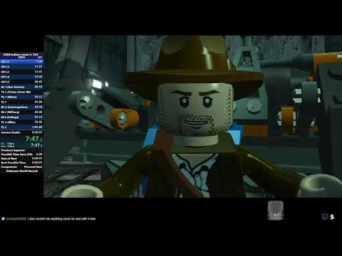 [WR] LEGO Indiana Jones 2: The Adventure Continues 100% Speedrun In 7:11:09