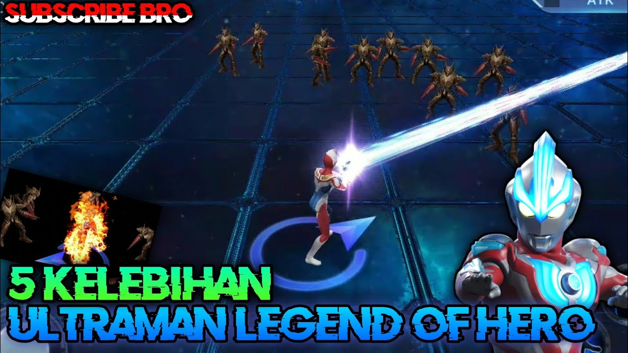 5 Kelebihan dari ultraman legend of hero playstore - YouTube