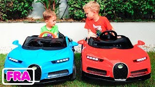 Vlad et Nikita - histoires drôles sur Cars for Kids