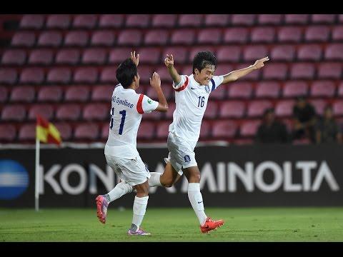 Thailand vs Korea Republic: AFC U-16 Championship 2014