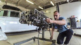 Сборка двигателя BMW N57, вторая переборка чудо мотора