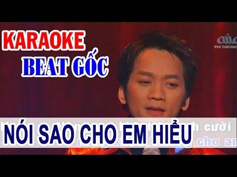 Nói Sao Cho Em Hiểu - KARAOKE | Don Hồ | Beat VO HIỆN soloGốc Hải Ngoại