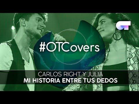 INSTRUMENTAL | Mi Historia Entre Tus Dedos - Carlos Right Y Julia | OT18CoverGala2
