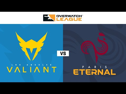 Los Angeles Valiant Vs Paris Eternal Week 21 Na Day 2 Youtube