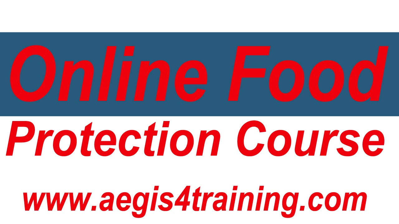 Online Food Protection Course Youtube