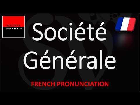 How to Pronounce Société Générale? | French Bank Pronunciation (Native Speaker)