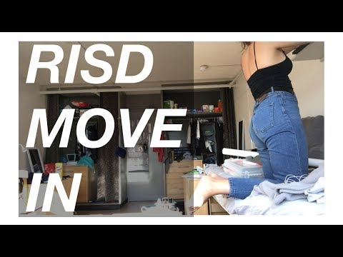 RISD DORM MOVE IN + UNIVERSITY LIFE // OnlyHope