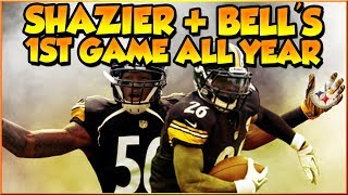 Steelers vs Cowboys - Shazier and Bell's 1st Game All Season! Madden NFL 19 Online Gameplay