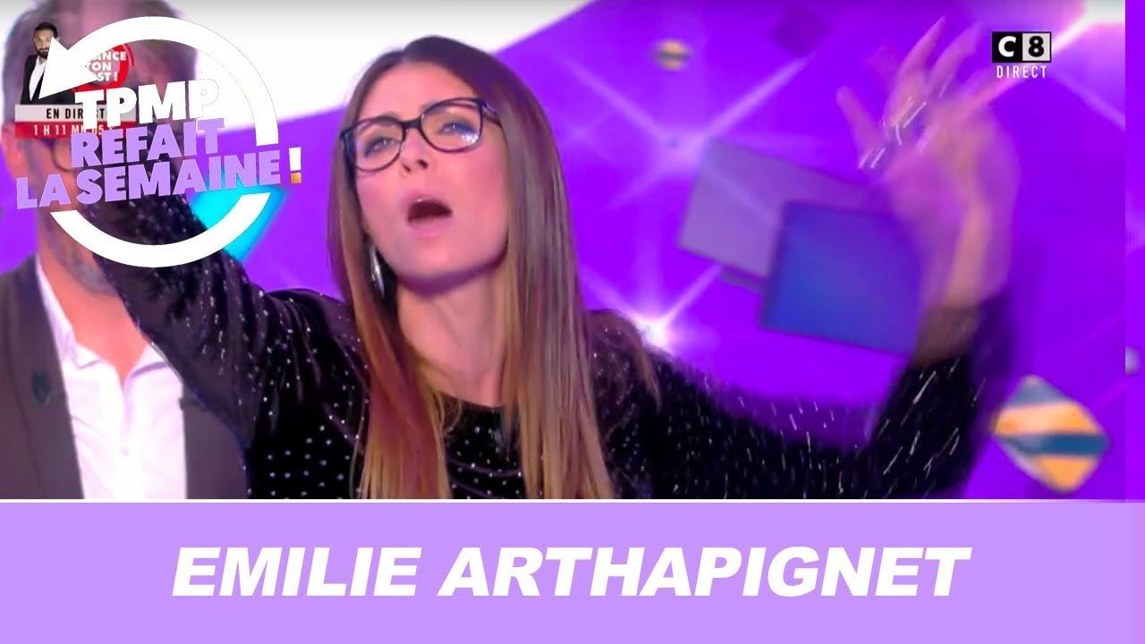Emilie Arthapignet en fausse directrice artistique : elle dézingue tous les chroniqueurs