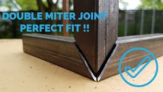 Double miter corner joint [ HOW TO ]