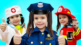 Professions Song   Sing-Along Nursery Rhymes & Kids Songs   Jobs and Career Song