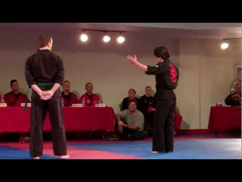 Live Ed Parker's Kenpo Karate Demo (Jim Park, Matt Riffee) 9/23/11