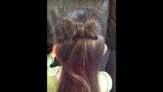 蝴蝶結髮型