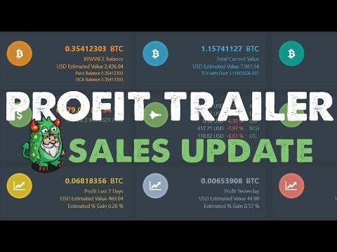 Profit Trailer : 1% Daily Possible?  | Bitcoin Trading Bot | Binance Crypto Trading Bot